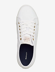 GANT - Pinestreet Low laceshoes - låga sneakers - white - 3