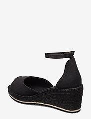 GANT - Wedgeville Plateau Sandal - heeled espadrilles - black - 2