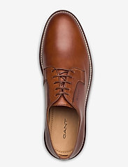 GANT - St Akron Low lace shoes - chaussures lacées - cognac - 3