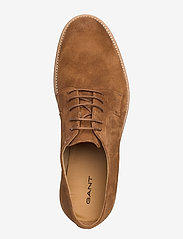 GANT - Prepburg Low lace shoes - chaussures lacées - cognac - 3