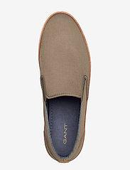 GANT - Prepville Slip-on shoes - baskets slip-ons - kalamata green - 3