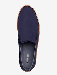 GANT - Prepville Slip-on shoes - baskets slip-ons - marine - 3
