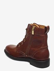 GANT - Ainsley Mid lace boot - platte enkellaarsjes - cognac - 2