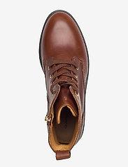 GANT - Ainsley Mid lace boot - platte enkellaarsjes - cognac - 3