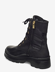 GANT - Windpeak Mid lace boot - platta ankelboots - black - 2