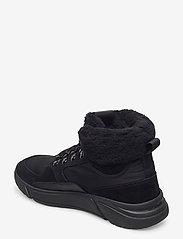 GANT - Cocoville Mid lace boot - flade ankelstøvler - black - 2