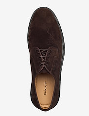 GANT - Kyree Low lace shoes - snøresko - dark brown - 3