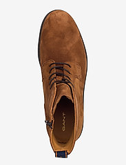 GANT - Brookly Mid lace boot - laced boots - cognac - 3