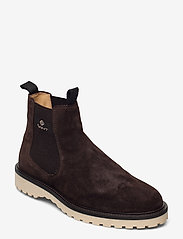 GANT - Roden Chelsea boot - chelsea boots - dark brown - 0