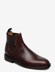 GANT - Brockwill Chelsea - chelsea boots - sienna brown - 0