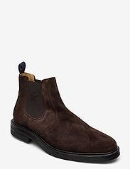 GANT - Kyree Chelsea - chelsea boots - dark brown - 0