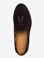 GANT - Almon Slip-on shoes - instappers - dark brown - 3