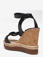 GANT - Ivalice Wedge Sandal - espadrilles mit absatz - black - 2