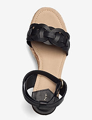GANT - Ivalice Wedge Sandal - espadrilles mit absatz - black - 3