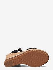 GANT - Ivalice Wedge Sandal - espadrilles mit absatz - black - 4
