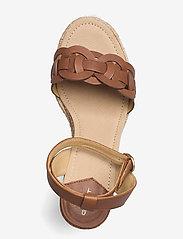 GANT - Ivalice Wedge Sandal - espadrilles mit absatz - tan - 3