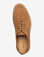 GANT - Prepburg Low lace sh - laced shoes - cognac - 3