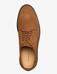 GANT - St Akron Low lace sh - laced shoes - cognac - 3