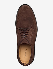 GANT - St Akron Low lace sh - laced shoes - dark brown - 3