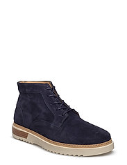 Jean Mid lace boot - MARINE