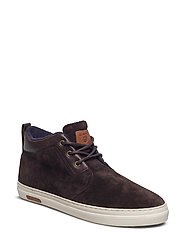 Marvel Mid lace boot - DARK BROWN