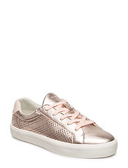 Mary Low lace shoes - ROSE GOLD