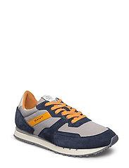 Duke Sneaker - MARINE/SLEET GRAY