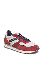 Duke Sneaker - SYRAH RED/PUM.BEIGE