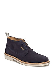 Parker Mid lace boot - MARINE