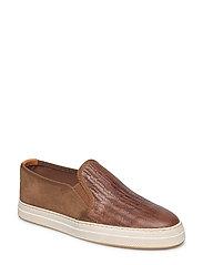 Star Slip-on shoes - COGNAC