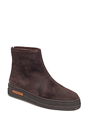 Maria Mid Boot - DARK BROWN