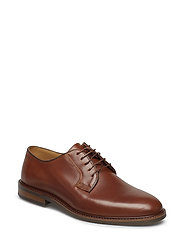 Ricardo Low lace shoes - COGNAC
