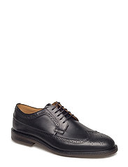 Ricardo Low lace shoes - BLACK