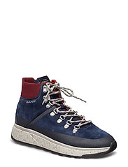 Tomas Mid lace boot - MARINE