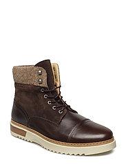 Jean Mid lace boot - ESPRESSO