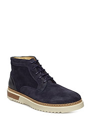 Jean Low Boot - NAVY BLUE