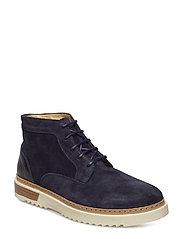 Jean Low Boot - NAVY BLUE