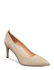 Betty Pumps (high heel) - PUTTY CREAM BEIGE