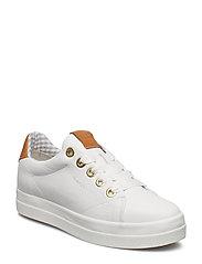 Aurora Low lace shoes - BRIGHT WHITE
