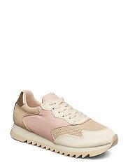Lindsey Sneaker - MACADAMIA/LT.PINK