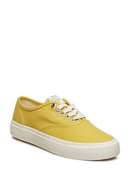 Long Beach Low laceshoes - GOLD YELLOW
