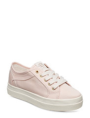 Aurora Low lace shoes - SILVER PINK