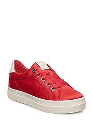 Aurora Low lace shoe - WATERMELON RED