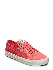 Zoee Low lace shoes - WATERMELONRED