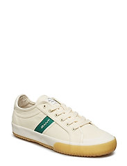 Sinzer Low lace shoes - CREAM