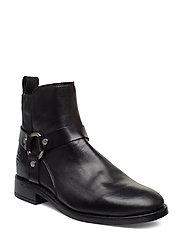 Fay  Mid Zip boot - BLACK