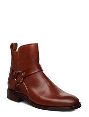 Fay  Mid Zip boot - COGNAC