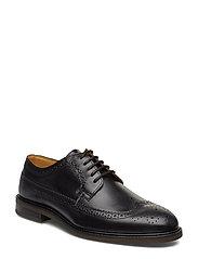 Ricardo Low lace shoes - BLACK