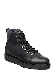 Don  Mid lace boot - BLACK