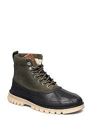 Colorado Mid lace boot - NAVY/COGNAC/DK.ORANGE
